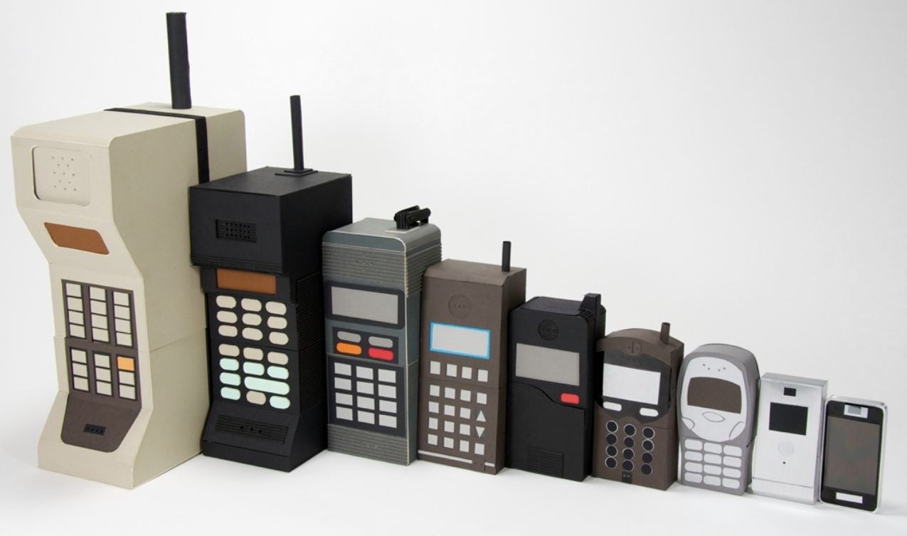 İlk ceptelefonu